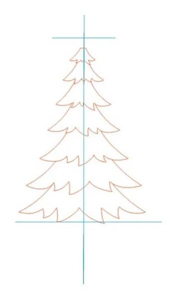 크리스마스 주제용 도면 : 새해에 그려 졌을 수있는 risunki novodnyuyu temu 19