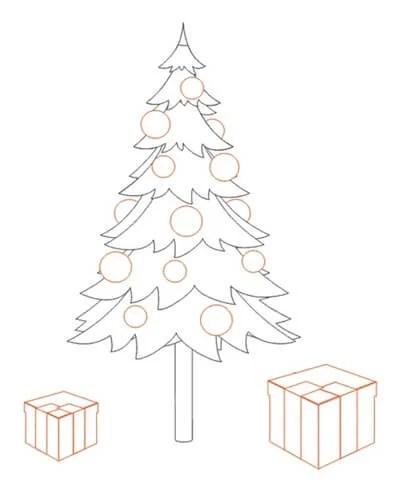 크리스마스 주제용 도면 : 새해에 그려 졌을 수있는 risunki novodnyuyu temu 21