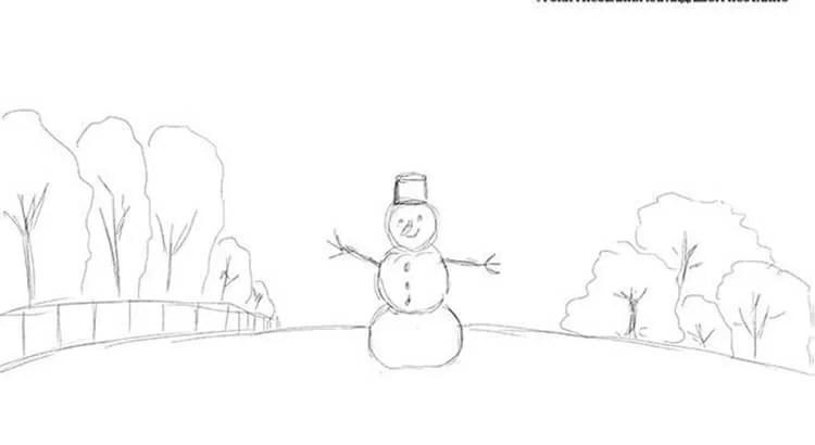 Рисунки на новогоднюю тематику: что можно нарисовать на Новый год risunki na novogodnyuyu temu 37