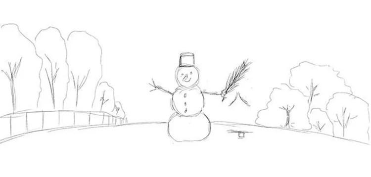 Dessins pour sujets de Noël: Que peut-on tirer sur la nouvelle année Risunki Na Novogodnyuyu Temu 38