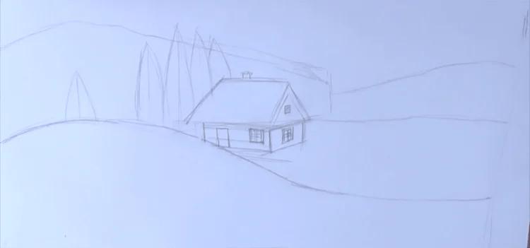 Dessins pour sujets de Noël: Que puis-je dessiner pour la nouvelle année Risunki Na Novogodnyuyuu Temu 88