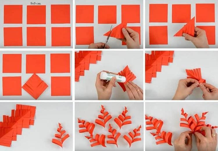 新年美丽的原始雪花:创建自己的手,模板与照片Snezhinki Iz Bumagi Svoimi Rukami 44 1