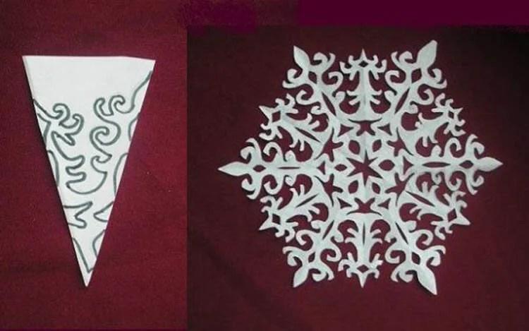 Жаңа жылға арналған әдемі түпнұсқа снежинкалар: Өз қолдарыңызды, шаблондарыңызды жасаңыз Snezhinki iz bumagi svoimi rukami 91