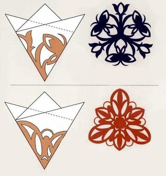 Жаңа жылға арналған әдемі түпнұсқа снежинкалар: өз қолдарыңызды, шаблондарыңызды жасаңыз Snezhinki iz bumagi svoimi rukami 97