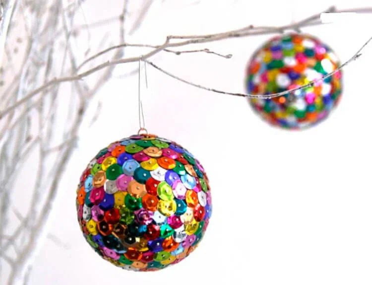 Julgranleksaker på julgran med egna händer: Vad kan göras för det nya året Elochnaya igrushka svoimi rukami 70
