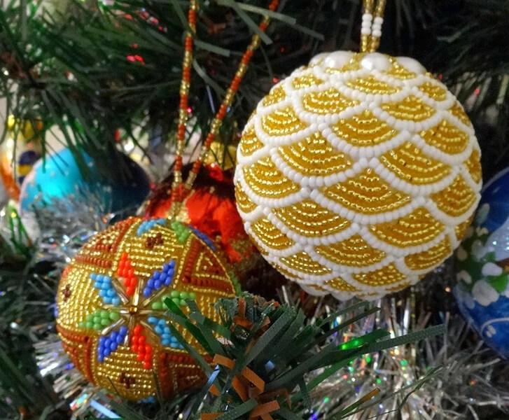 Joulukuusi lelut joulukuusi omalla kädellään: mitä voidaan tehdä uudenvuoden Elochnaya Igrushka Svoimi Rukami 73