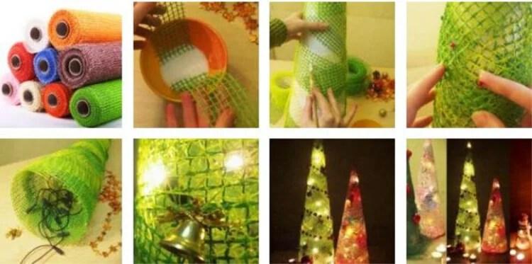 DIY para o novo ano com suas próprias mãos: Fazemos uma escola e jardim de Podelki K Novomu Godu 5