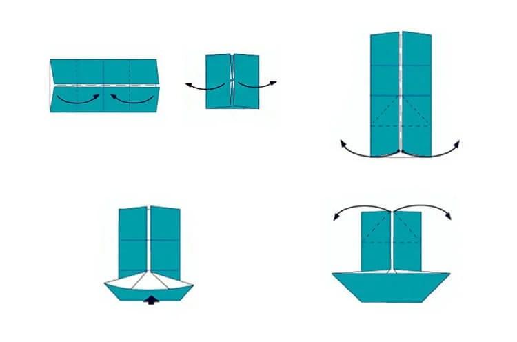 Кораблик для детей: различные способы создания со схемами и описанием 20 23 1