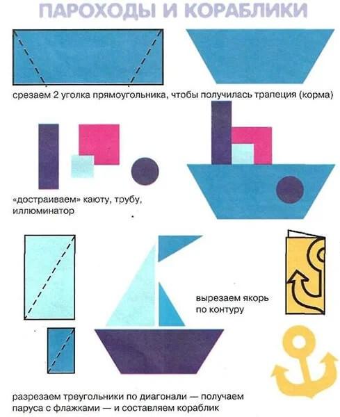 船舶为儿童:使用方案创建的各种方式和描述Korabl Svoimi Rukami 36