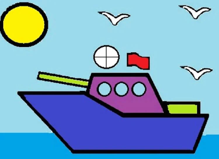 船舶为儿童:用方案创建的各种方式和描述Korabl Svoimi Rukami 56