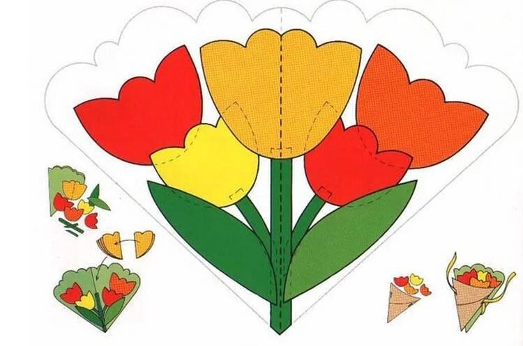 Поделки на 8 марта для любимых мам: подарок с душой своими руками podelku na 8 marta svoimi rukami 14