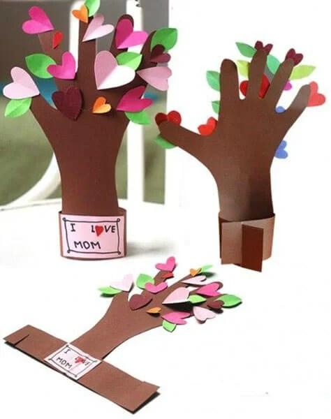 Поделки на 8 марта для любимых мам: подарок с душой своими руками podelku na 8 marta svoimi rukami 7