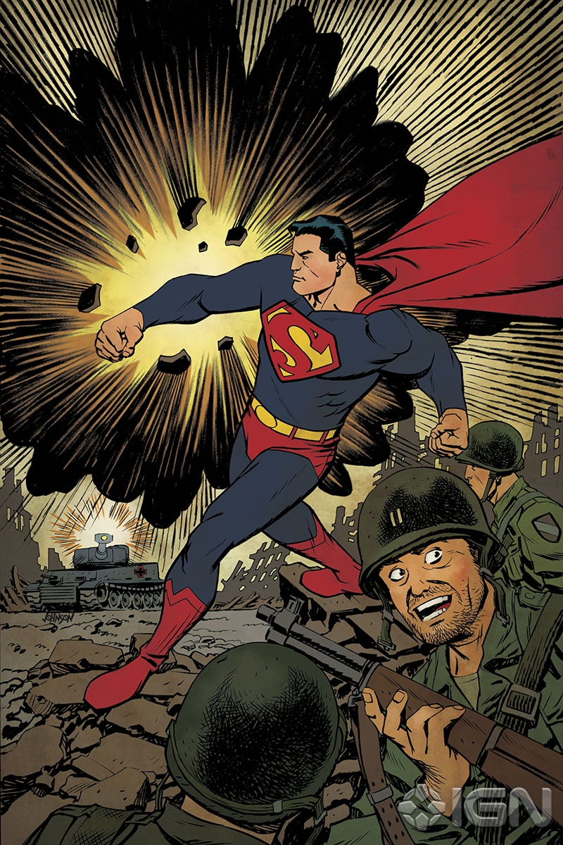 Superman Unchained Variant Covers Celebrate 75 Years Of