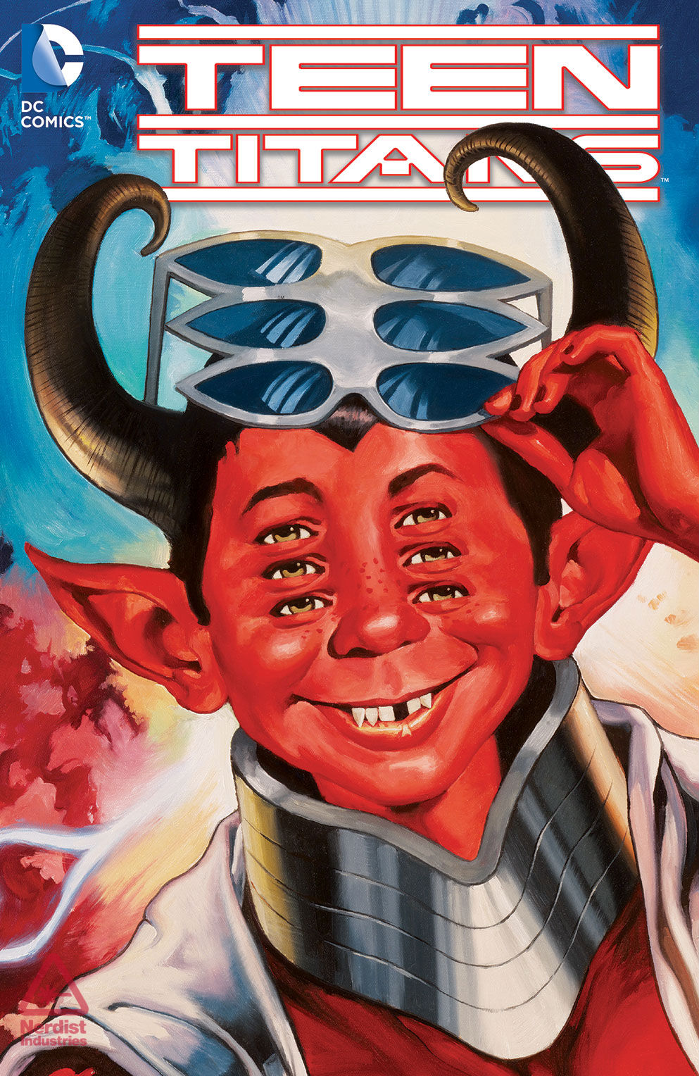 Dc Comics Unveils April S Mad Magazine Themed New 52