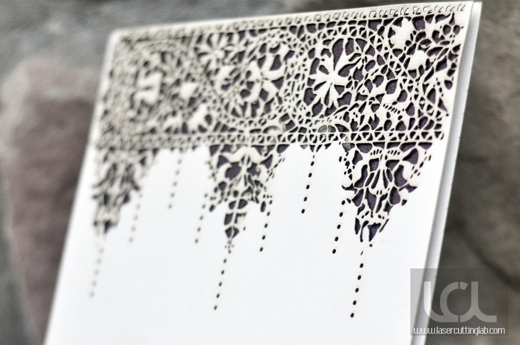 Laser Cut Lace Invitation Laser Cutting Lab Llc