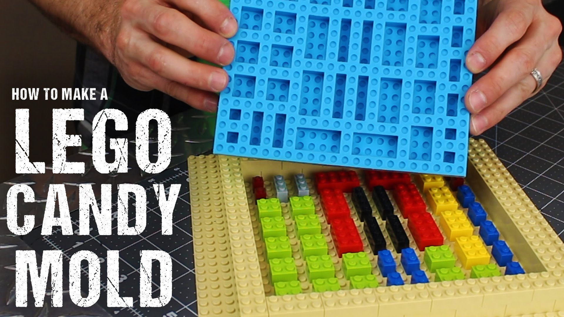 A How To Guide To Making A Silicone Lego Candy Mold