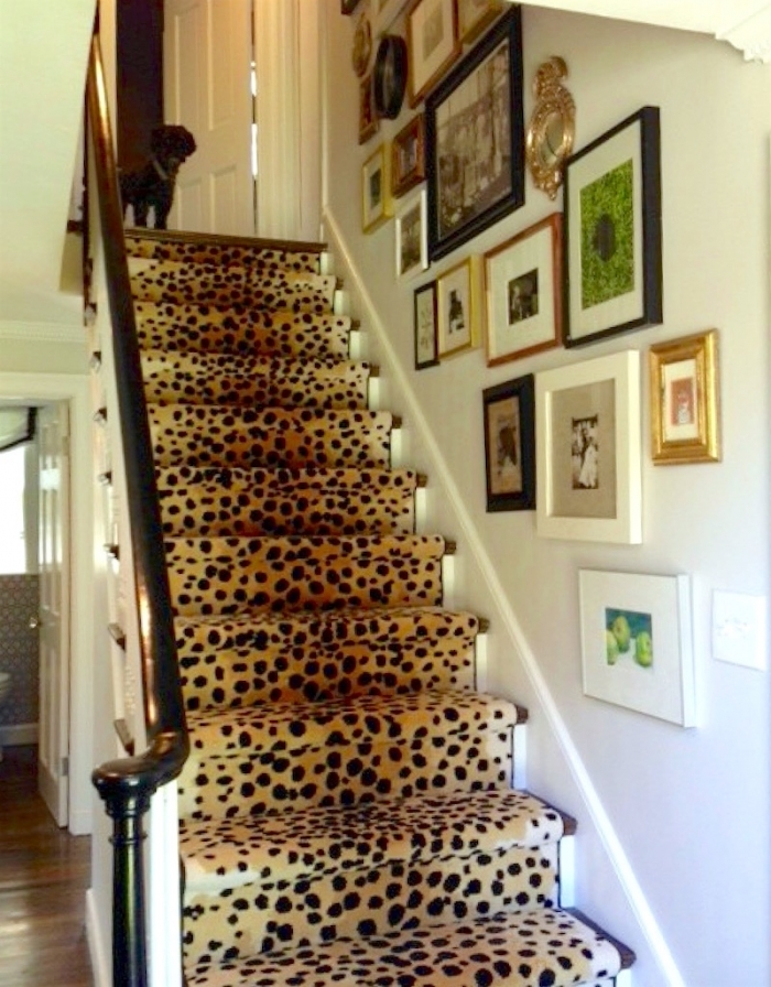 Stair Runners And The One Fiber You Should Never Use | Designer Carpet For Stairs | Stair Railing | Farmhouse | Classical Design | Style New York | Rectangular Cord Treads