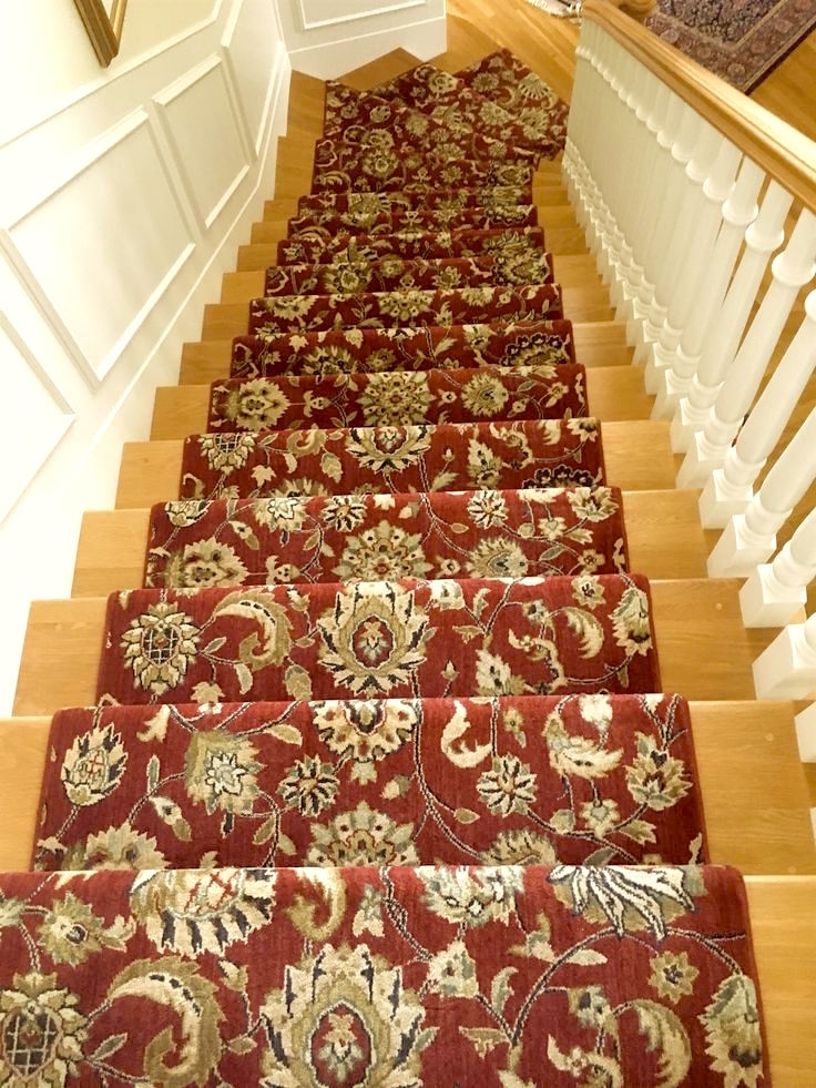 Stair Runners And The One Fiber You Should Never Use | Thin Carpet For Stairs | Striped Carpet Runner | Area Rug | Stair Runners | Ultra Thin | Stair Tread