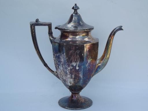 Set Tea Plated Epns Silver