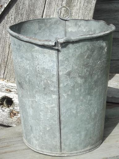 Hanging Garden Bucket