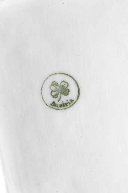 Gold Marks Porcelain