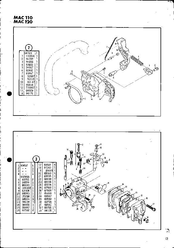 mcculloch mac 110 parts diagram rh pandarestaurant us McCulloch Mac 110 Chainsaw Parts McCulloch 160s Chainsaw Operators Manual