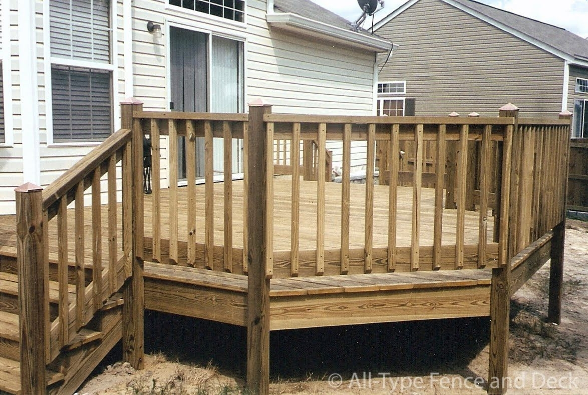 40 Creative Deck Railing Ideas For Inspiration Pinterest Deck – Layjao | Home Depot Deck Handrail | Stairs | Face Mount | Aluminum Balusters | Cable Railing Kit | Southern Yellow Pine