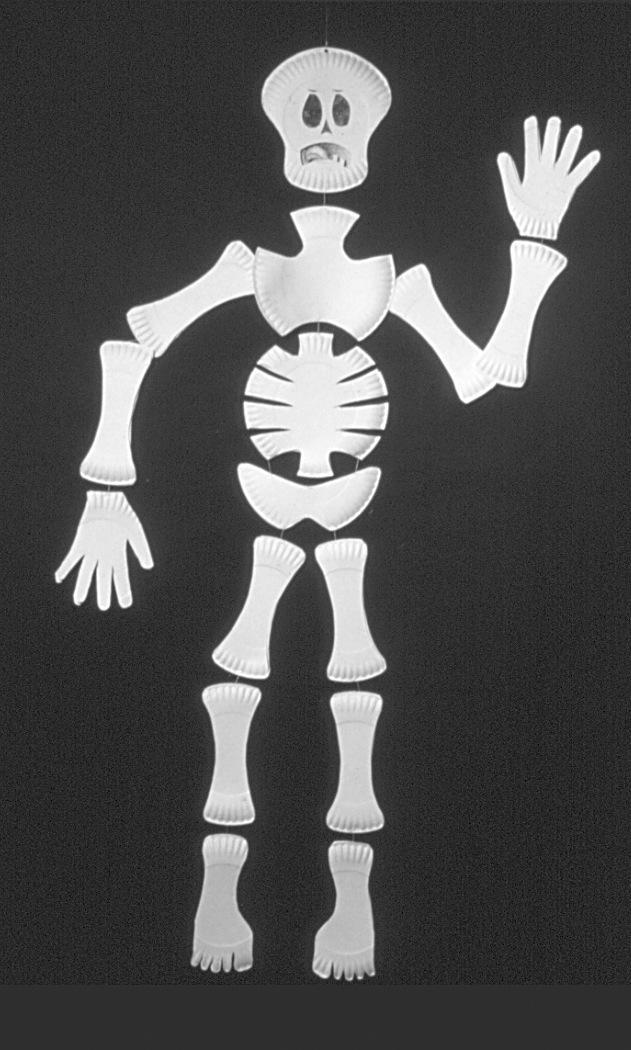 Easy Skeleton Face Paint