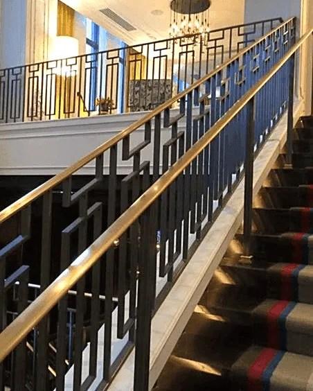Heritage Industries Beautiful Ornamental Iron Work Pittsburgh | Heritage Stair And Railing | Stainless Steel | Balcony Railing Design | Indoor Stair | Interior Stair | London Ontario