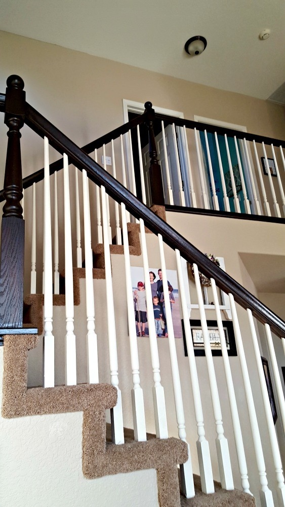 Staircase Refinishing The Easy Way And For Under 50 Leap Of | Cost To Refinish Handrail | Hardwood Stairs | Wrought Iron | Interior | Stair Treads | Refinishing Hardwood Floors