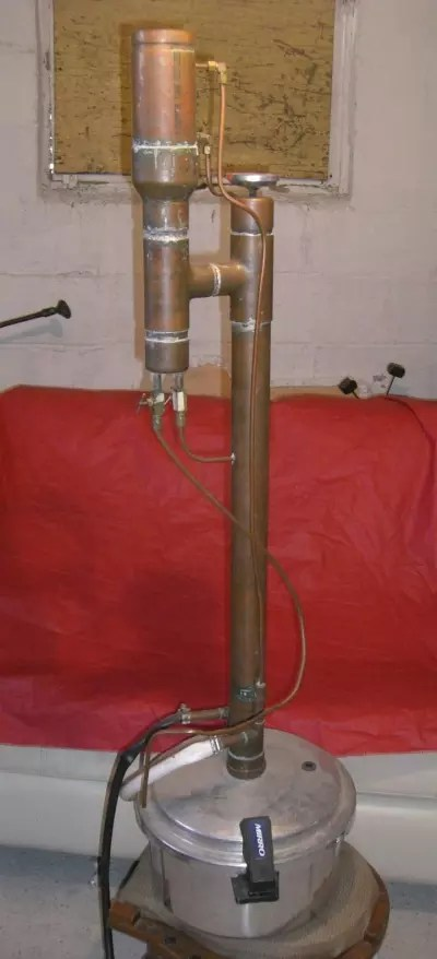 Cooker Homemade Moonshine Still Pressure