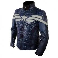 Captain America The Winter Soldier New Leather Jacket Costume 2014 3