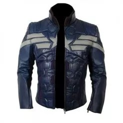 Captain America The Winter Soldier New Leather Jacket Costume 2014 5