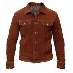 Logan Suede Leather Jacket