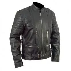 Terminator 3 Black Leather Jacket 2