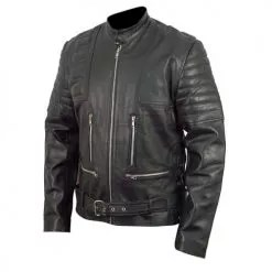 Terminator 3 Black Leather Jacket 3