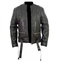 Terminator 3 Black Leather Jacket 6