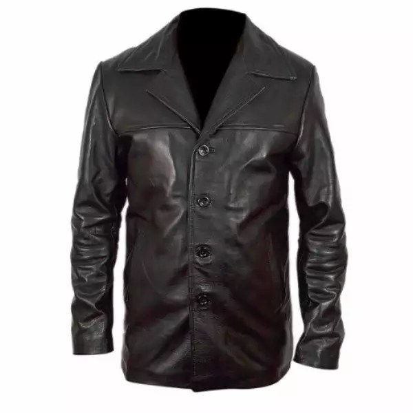 Training Day Black Leather Jacket