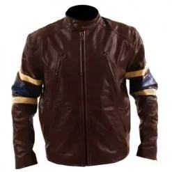 Xmen 3 Brown Leather Jacket