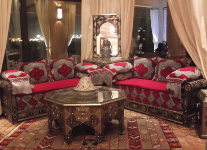 Moroccan Salon   AlBourad Luxury Moroccan living room Moroccan Salon   S 006