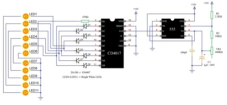 Railing Lighting Lighting Scheme