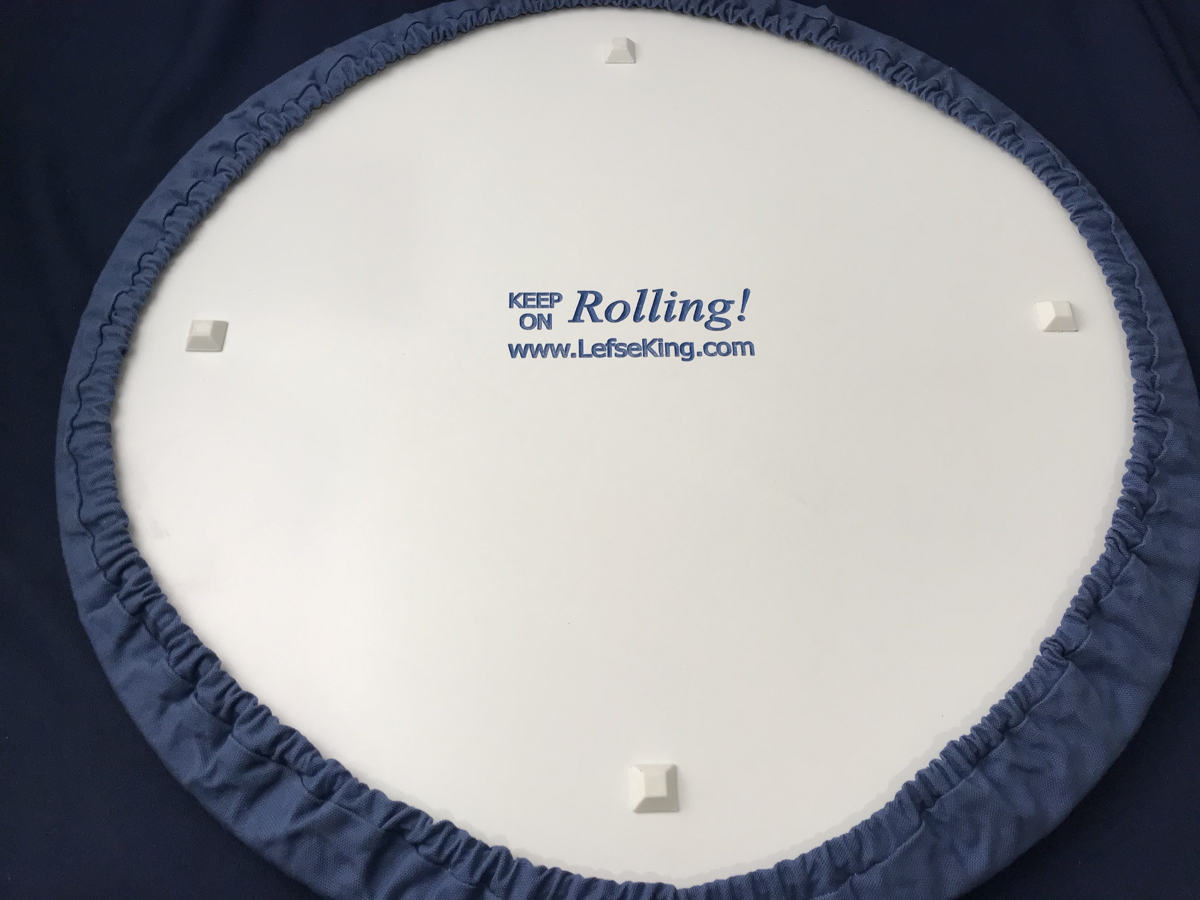 Blue Pastry Board Cover – Lefse King