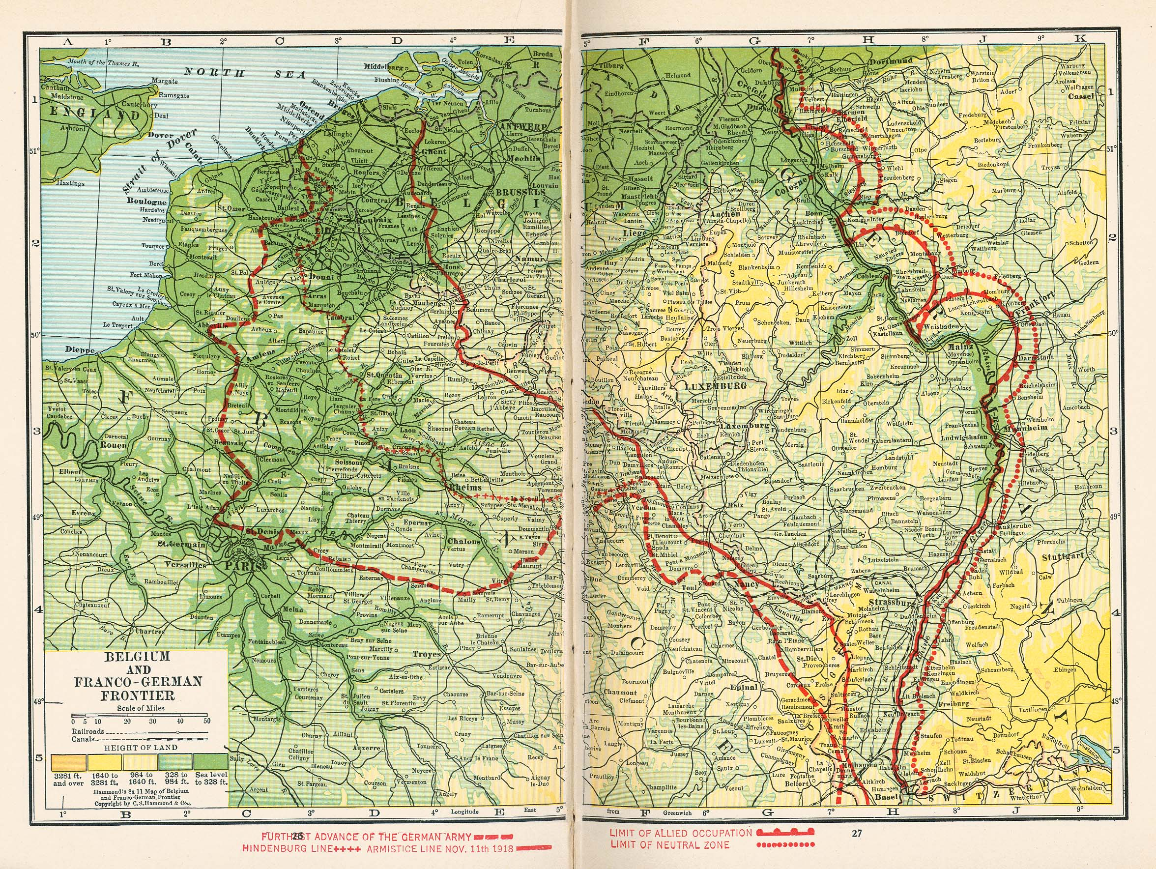 Europe Historical Maps   Perry Casta    eda Map Collection   UT Library     Belgium and Franco German Frontier