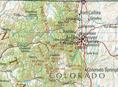 HD Decor Images » Colorado Maps   Perry Casta    eda Map Collection   UT Library Online     Colorado  reference map