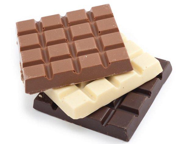 típusú csokoládé