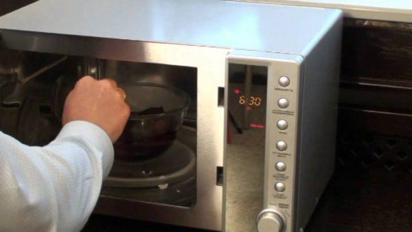 Sweet in microwave