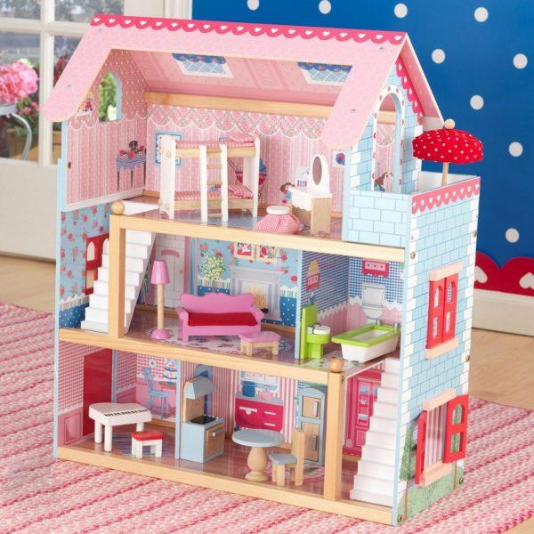 Dům pro Barbie.