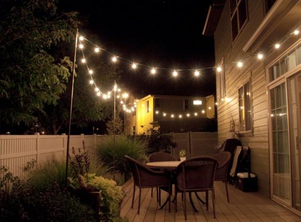 outdoor pendant string lights # 60
