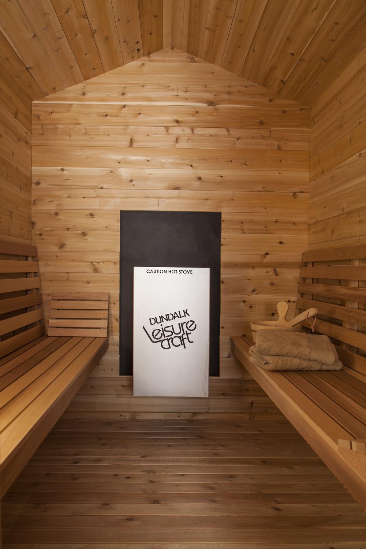 Outdoor Red Cedar Cabin Sauna 6x4 Dundalk Canada