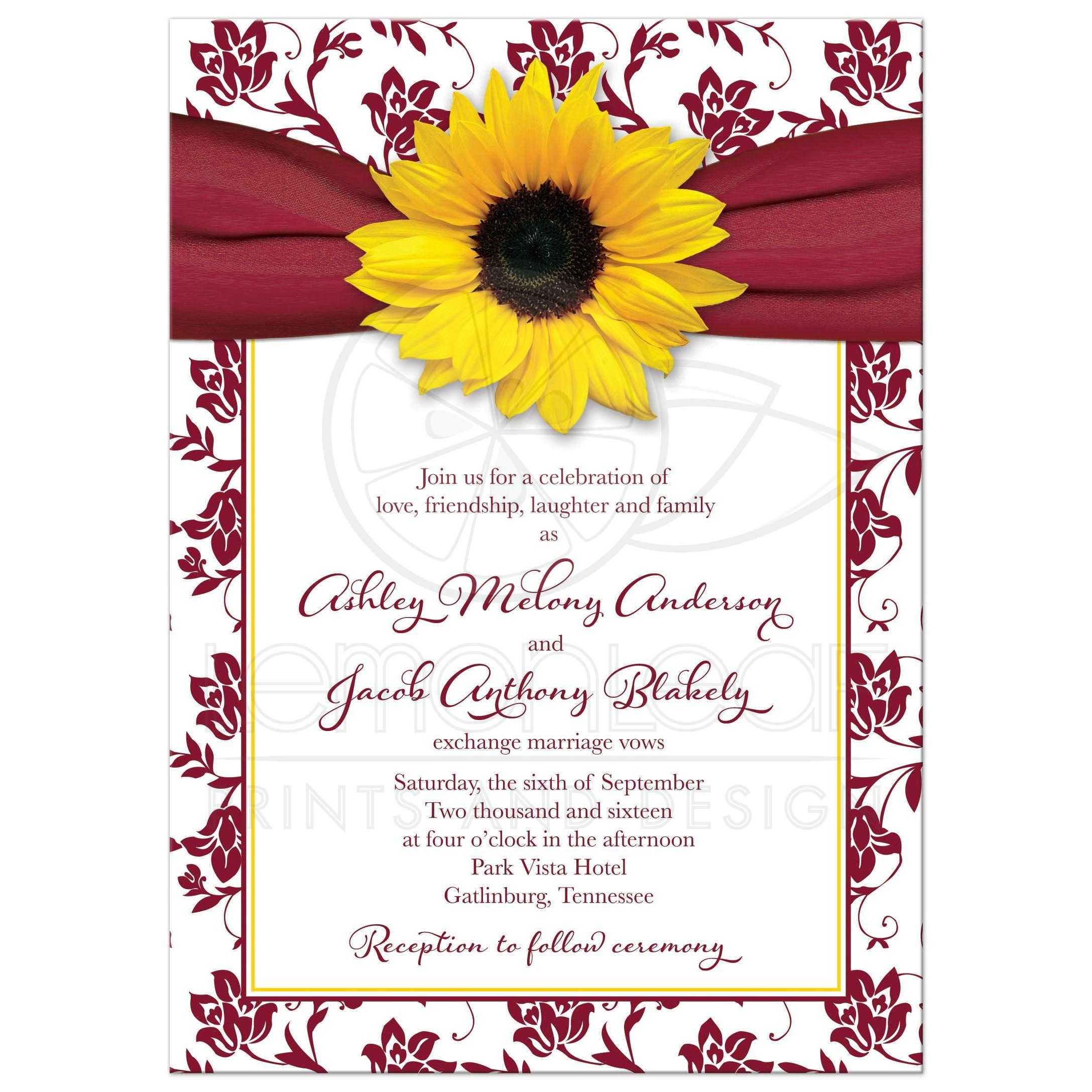 Red Barn Wedding Invitations
